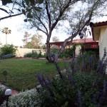 back yard North